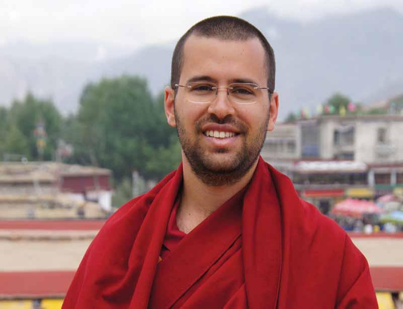 Palestra de Lama Michel Rinpoche no Clube Harmonia
