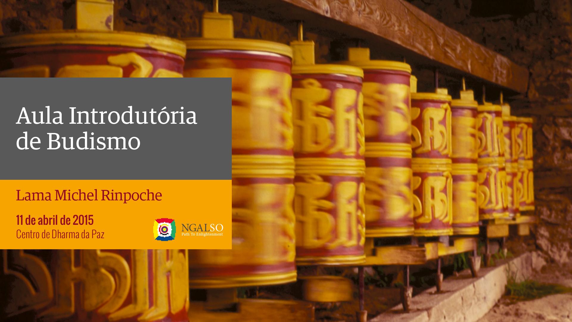 Aula Introdutória de Budismo