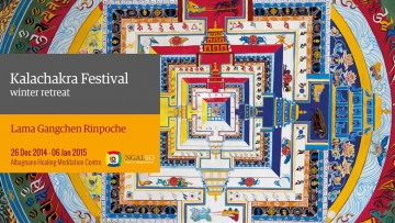 Kalachakra Festival – winter retreat (English-Italian) – 2014/2015