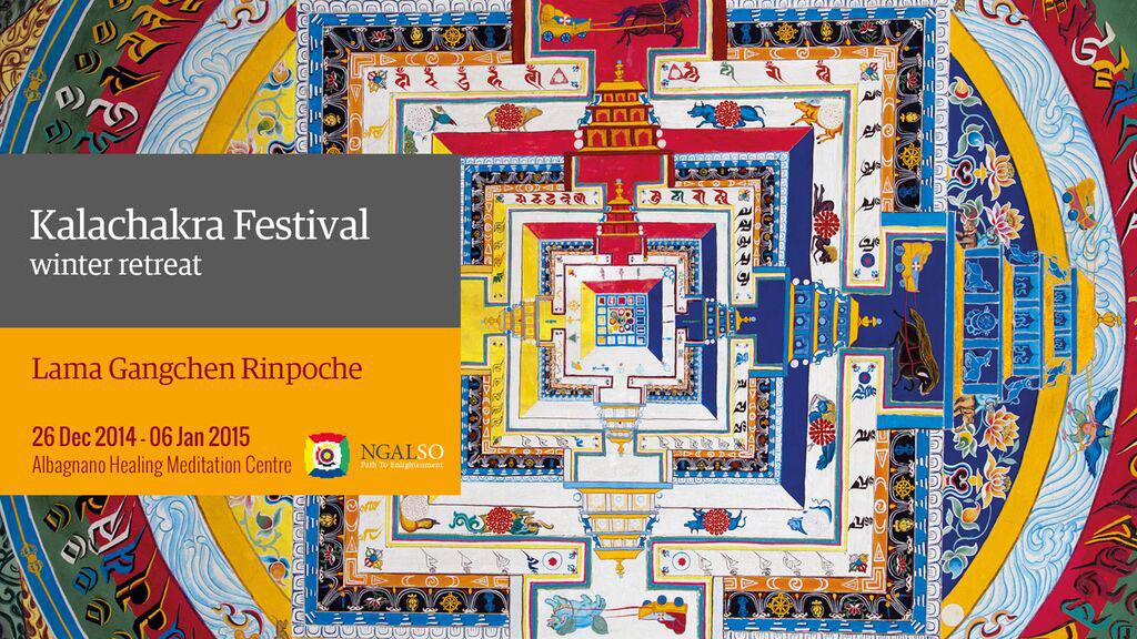 Kalachakra Festival – winter retreat (English-Italian) – 2014/2015