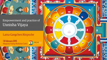 Empowerment and Practice of Usnisha Vijaya (English-Italian) – 7/8 February 2015