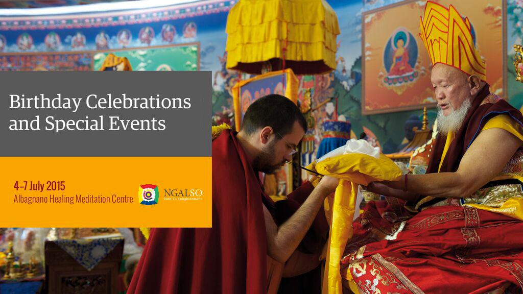 Celebrazione del Compleanno di Lama Gangchen Rinpoche – 7 luglio 2015