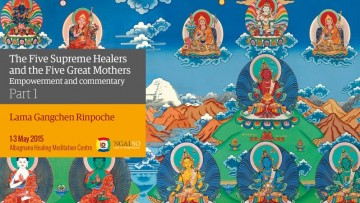 Guhyasamaja retreat preparation (En-Ita) - Part 1