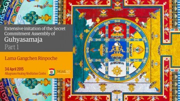 Extensive initiation of the Secret Commitment Assembly of Guhyasamaja - Part 1