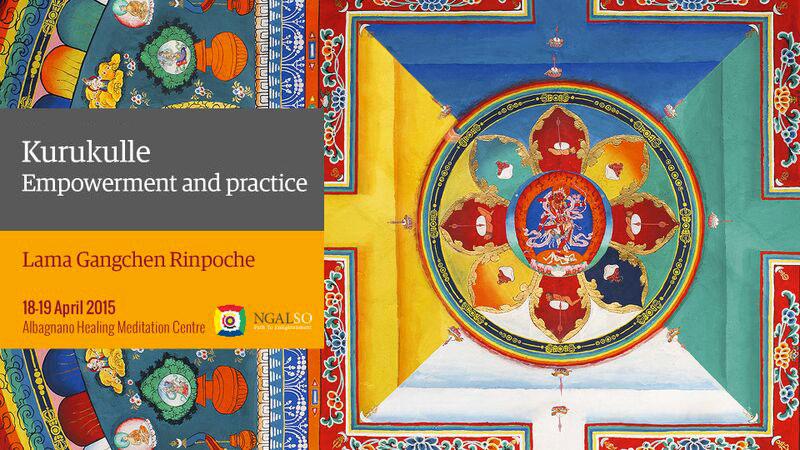 Iniziazione di Kurukulle e pratica (inglese – italiano) – 18/19 aprile 2015
