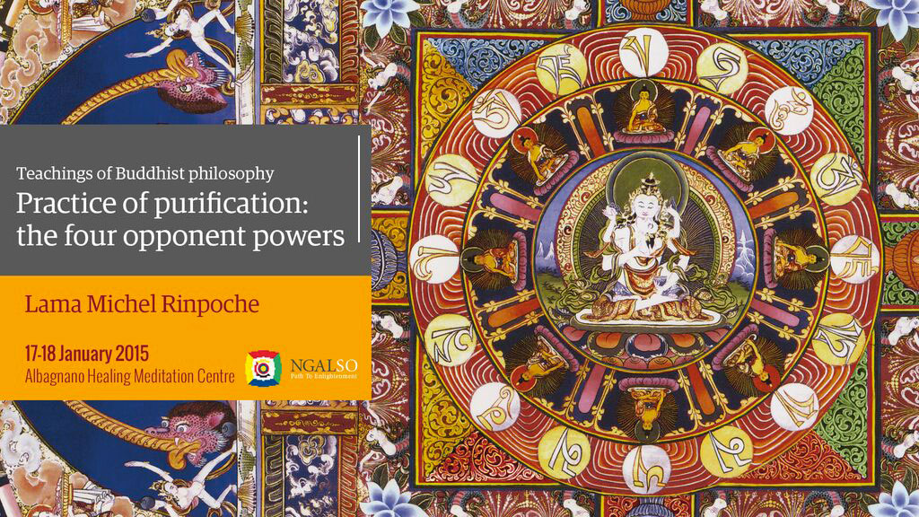 Practice of purification: the four opponent powers (English – Italian) – 17/18 January 2015