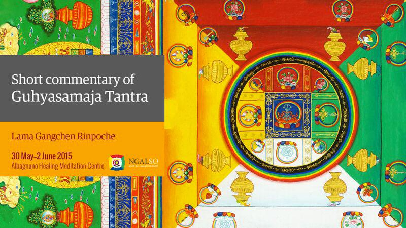 Short commentary of Guhyasamaja Tantra: Crystal Massage method to create the pure energy form of light and nectar (English-italiano) – 30 May 2015 – 2 June 2015