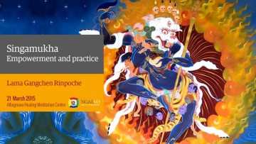 Singamukha Empowerment and practice - Part 1