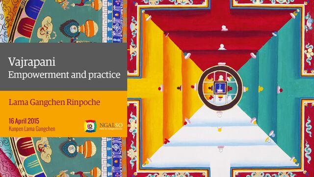 Iniziazione e pratica di Vajrapani (inglese – italiano) – 16 aprile 2015