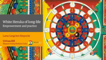 White Heruka of long Life Empowerment and practice (English – Italian) – 13/14 June 2015