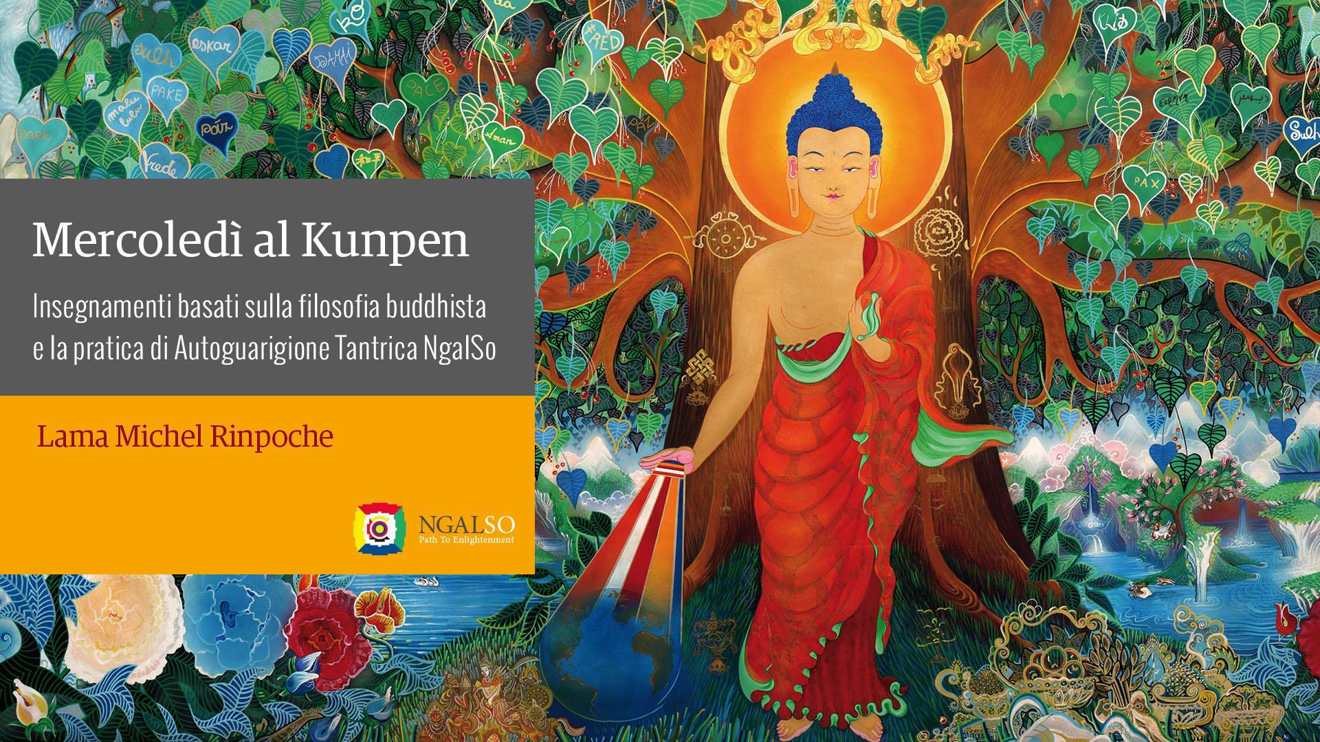 Mercoledì al Kunpen con Lama Michel Rinpoche (italiano) – 2014 / 2016