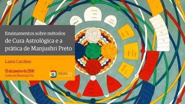 Métodos de Cura Astrológica e a prática de Manjushri Preto