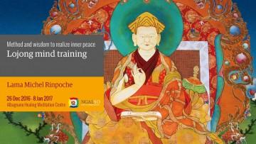 Lojong mind training: method and wisdom to realize inner peace (English – Italian) – 26 December 2016 – 8 January 2017