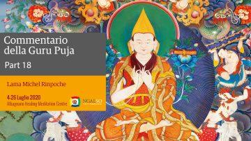 Commentario della Guru Puja con Lama Michel Rinpoche - parte 18 (IT)