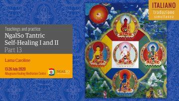 TRADUZIONE ITALIANO - Self Healing I & II with Lama Caroline - Parte 13