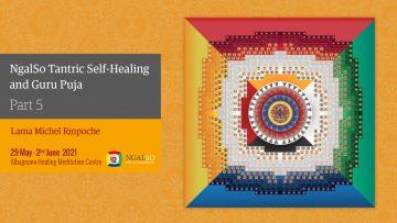 Self Healing and Guru Puja with Lama Michel Rinpoche (part 5)